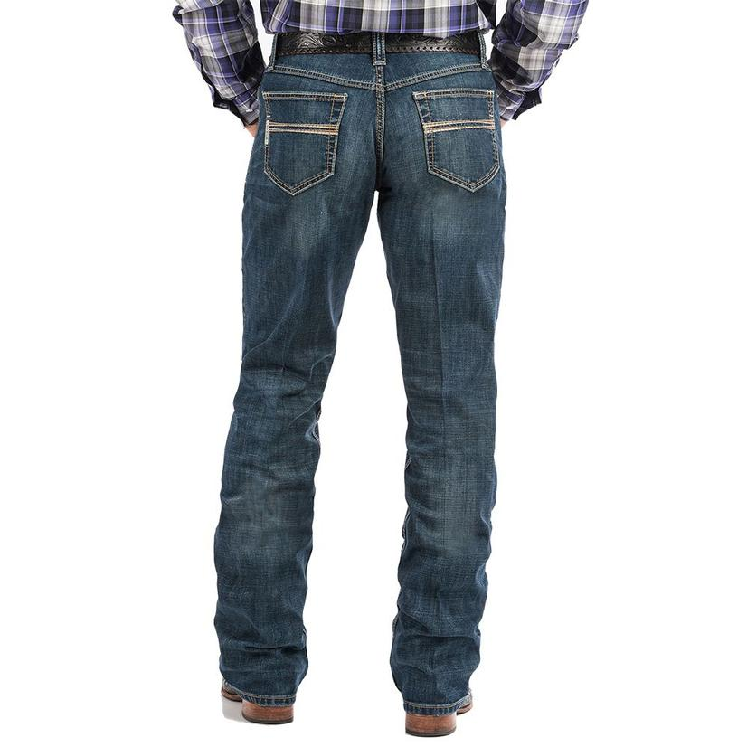 Cinch Mens Carter 2.0 Mid Rise Relaxed Boot Cut Jeans