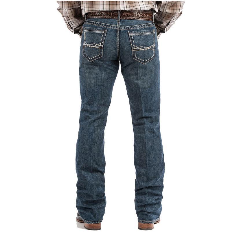 Cinch Ian Mid Rise Slim Boot Cut Men's Jeans
