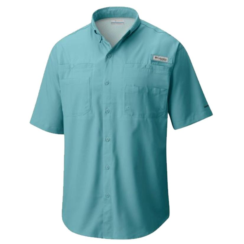 Columbia Mens Tamiami Ii Moxie Short Sleeve Shirt