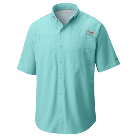 Columbia Mens Tamiami II Gulf Stream Short Sleeve Shirt
