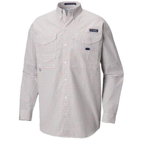 Columbia Mens Super Bonehead Moxie Mini Check Shirt