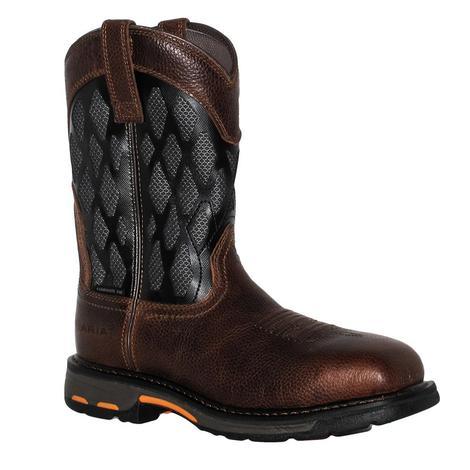 Ariat Mens Workhog Venttek Matrix Composite Toe Work Boots