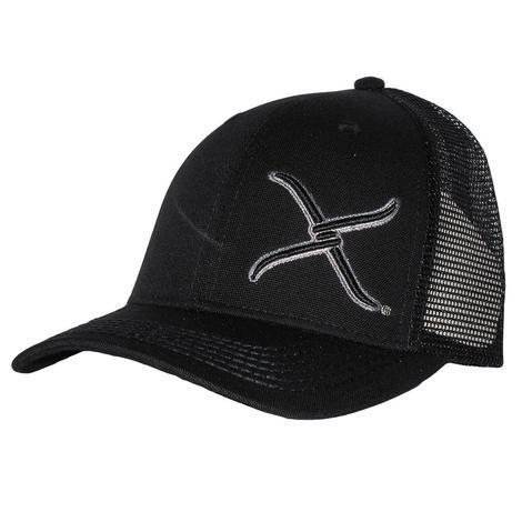 Twisted X Black Snapback Cap