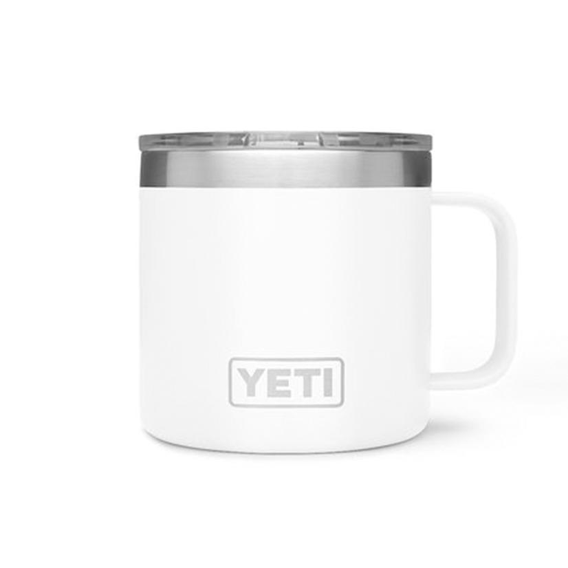Yeti Rambler 14oz Mug WHITE
