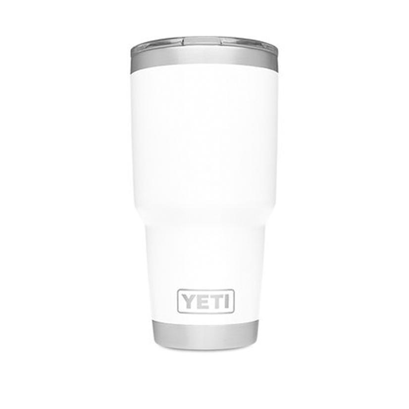 Yeti Rambler 30 oz w/Magnetic Slide Lid WHITE