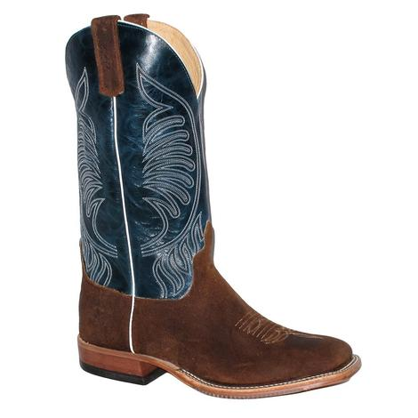 Anderson Bean Mens Briar Bison Teal Top Boot