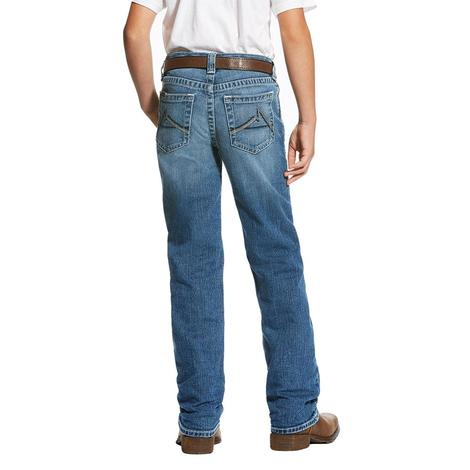 Ariat Boys M4 Brandon Relaxed Bootcut Jeans
