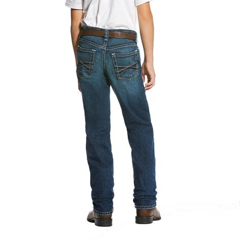 Ariat Boys M5 Freeman Slim Straight Leg Jeans