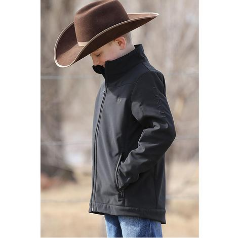 Cinch Boys Black Bonded Jacket