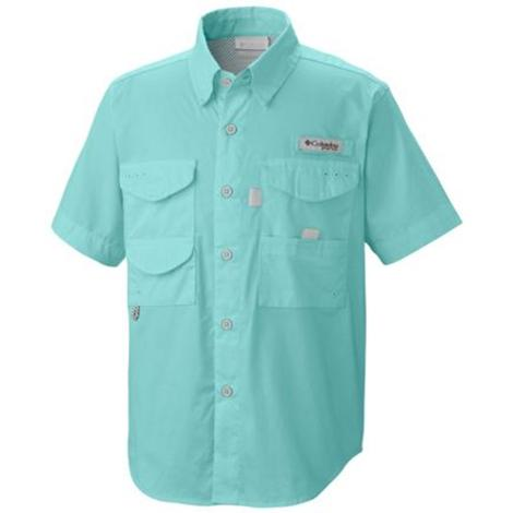Columbia Boys Bonehead Short Sleeve Gulf Stream Shirt