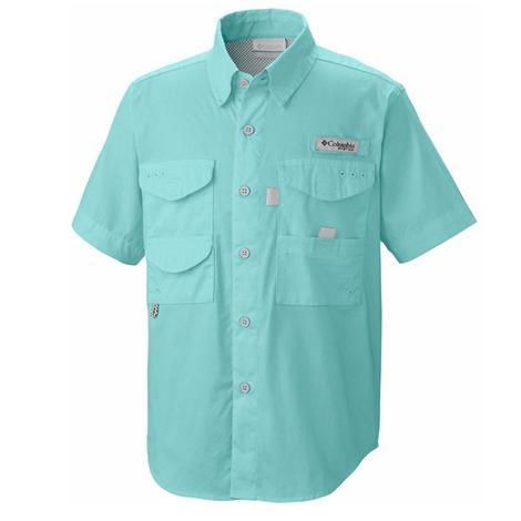 Columbia Toddler Bonehead Short Sleeve Gulf Stream Shirt