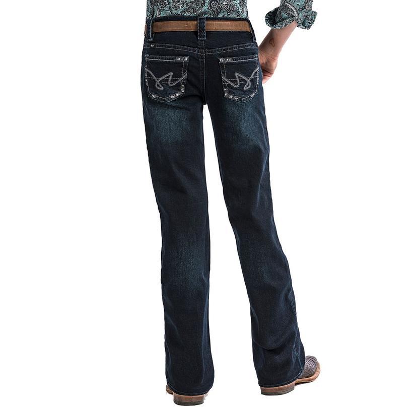 Cruel Girl Lucy Slim Fit Toddler Dark Wash Jeans