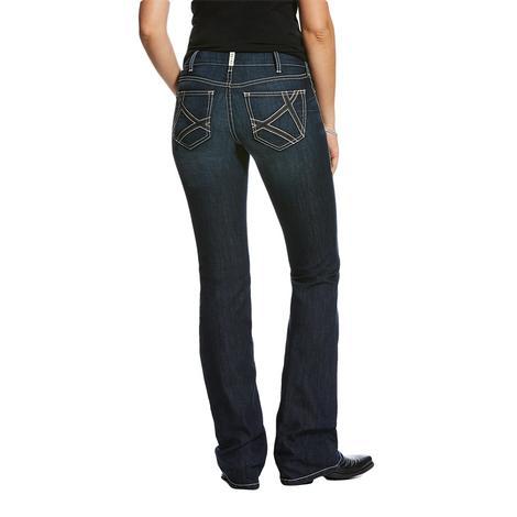 Ariat Real Boot Cut Mira Deep Sea Women's Jeans