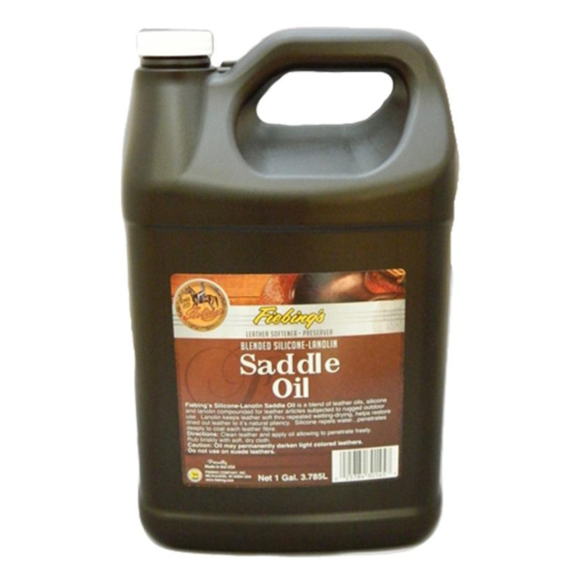 Fiebing Silicone And Lanolin Saddle Oil One Gallon