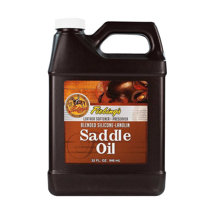 Fiebing Silicone Lanolin Saddle Oil 32oz