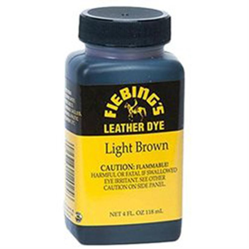Fiebing Leather Dye 4oz LIGHT_BROWN