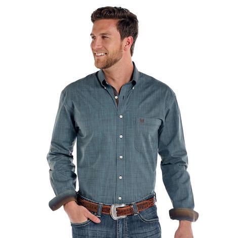 Panhandle Slim Denim One Pocket Button Down Men's Shirt