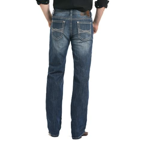 Rock and Roll Cowboy Reflex Medium Vintage Double Barrel Jeans