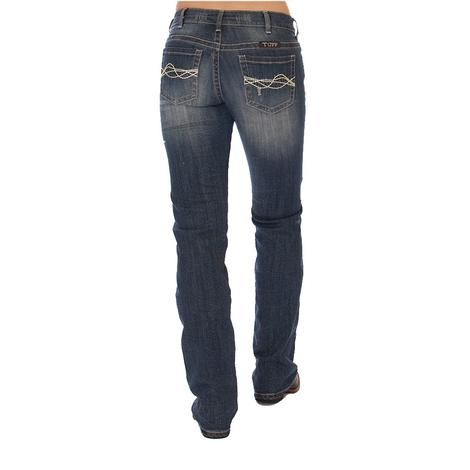 Cowgirl Tuff Womens Vintage Honey Western Jeans