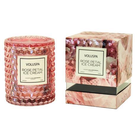 Voluspa Rose Petal Ice Cream 8.5oz Candle