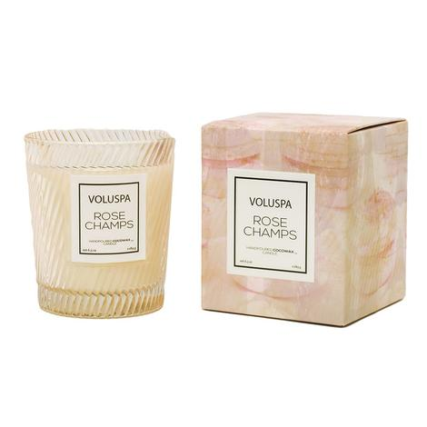 Voluspa Rose Champs 6.4oz Candle