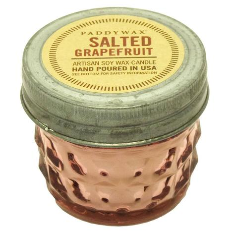 Paddywax Relish Jar Pink Salted Grapefruit 3oz Candle