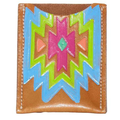 Miranda McIntire Aztec Card Holder