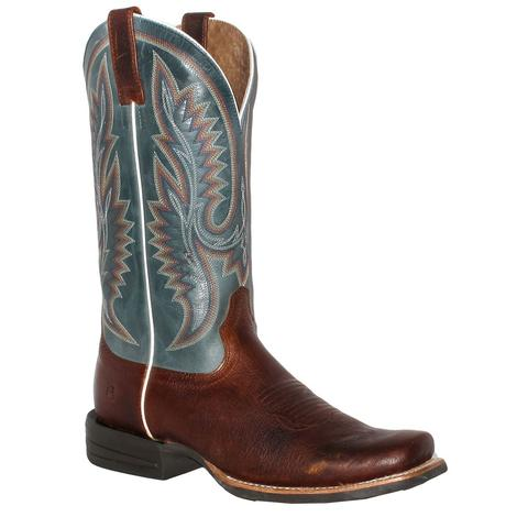 Ariat Relentless Advantage Heritage Blue Square Toe Mens' Boots