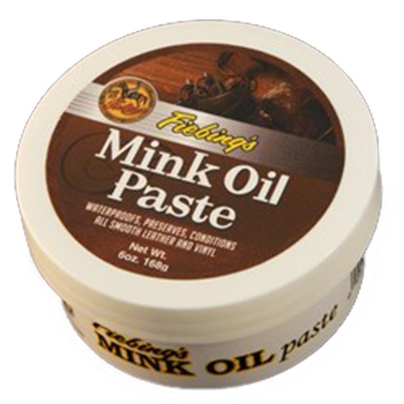 Fiebing Mink Oil Paste 6oz