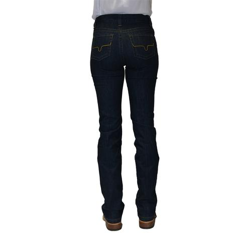 Kimes Ranch Womens Betty Modest Boot Cut Jeans