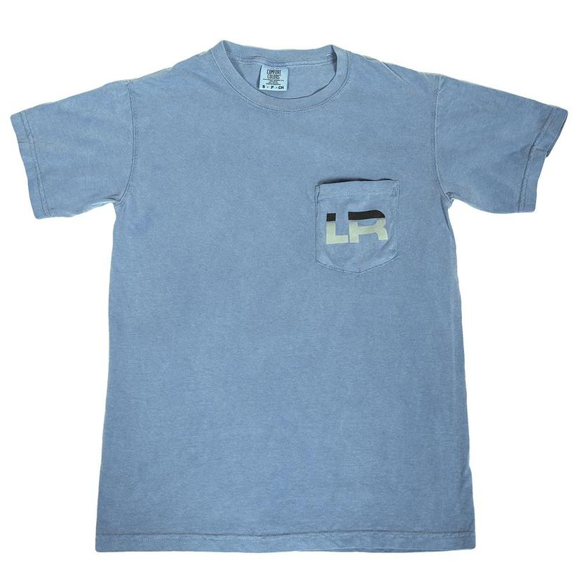 Lets Rope Denim Tee W/Front Pocket
