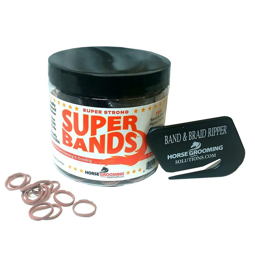 Super Bands Mane Bands with Cutter - Asst Colors RED