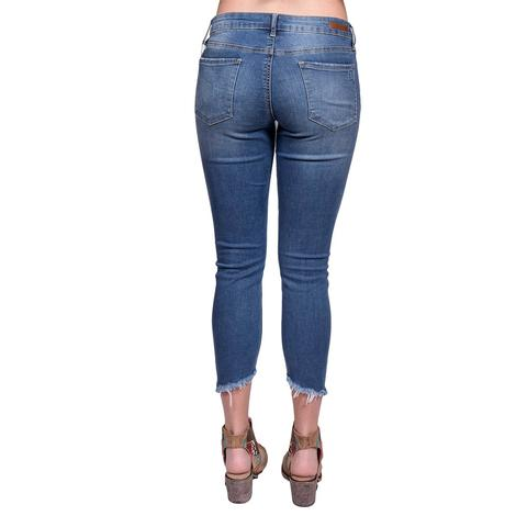 Articles of Society Sammy Step Hem Skinny Jeans