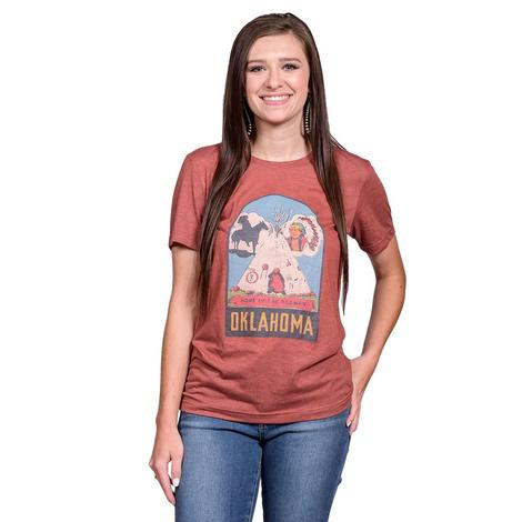 Home of the Redman Womens Tee