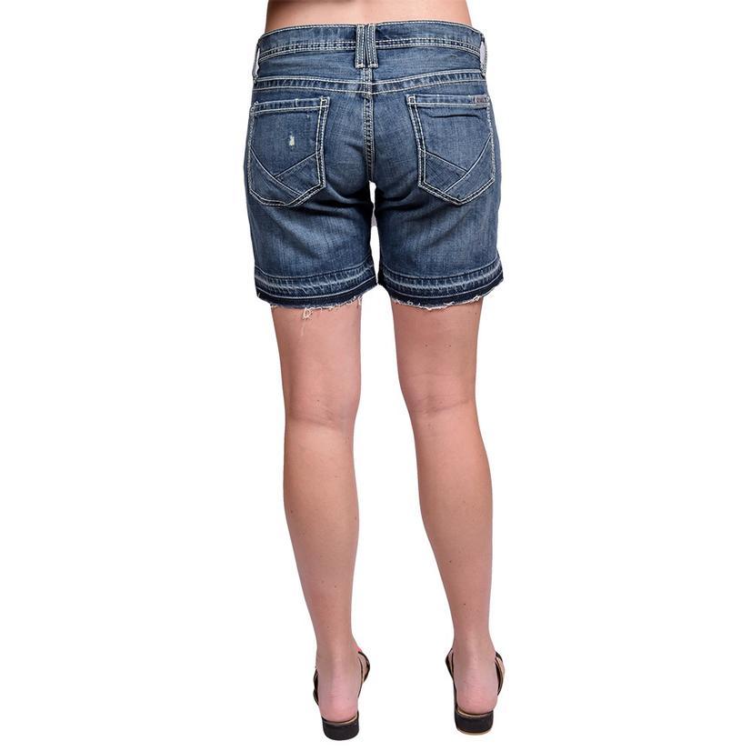 Cruel Girl Womens Rhyon Denim Shorts