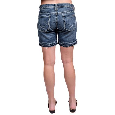Cruel Girl Womens Rhyon Denim Shorts