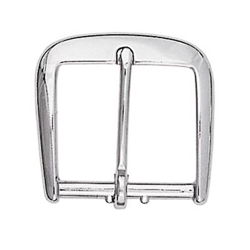 High Polished Nickle Cart Belt Buckle