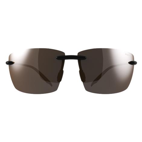 BEX Landyn Black-Brown Rimless Sunglasses