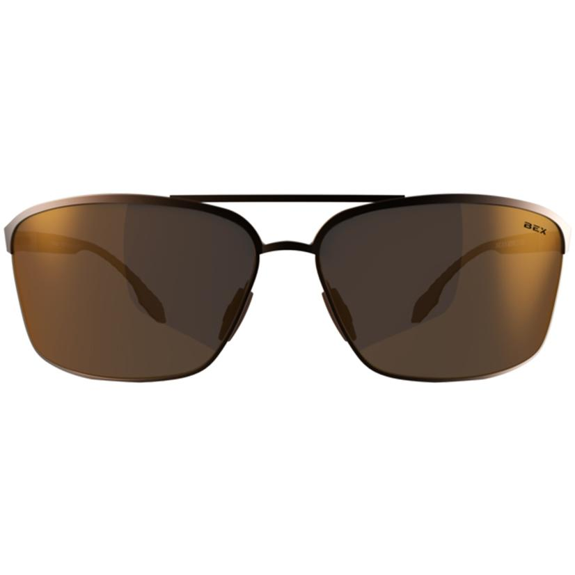 Bex Shuyk X Copper- Brown Metal Frame Sunglasses