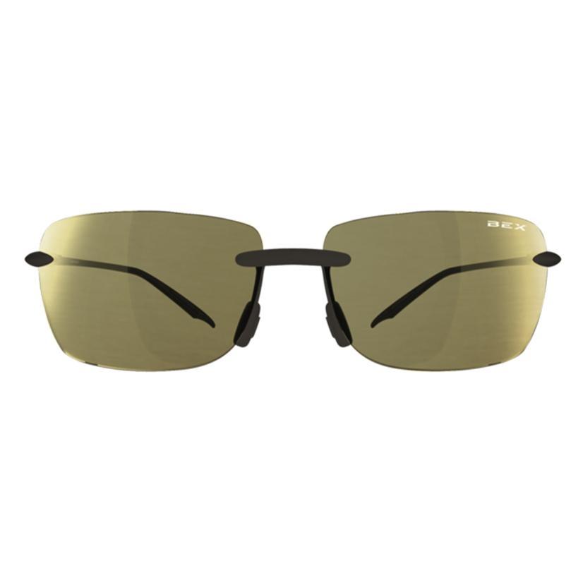 Bex Jaxyn Iii Amber- Gold Frameless Sunglasses