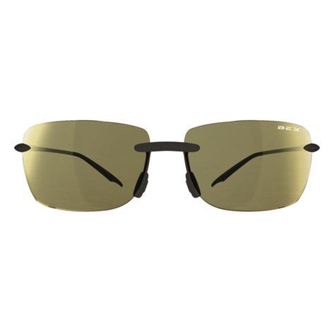 BEX Jaxyn III Amber-Gold Frameless Sunglasses