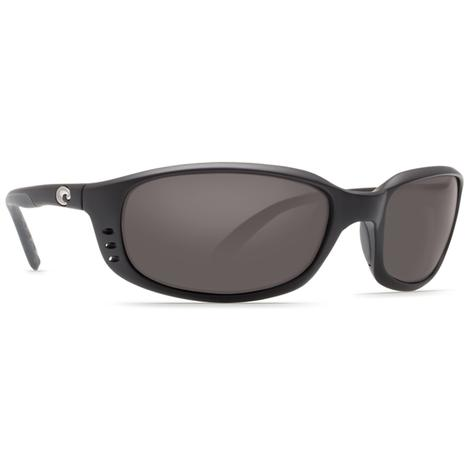 COSTA Brine Black Dark Grey Sunglasses