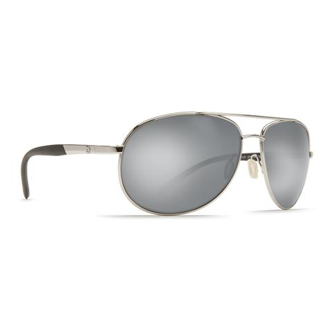 COSTA Wingman Palladium Silver Sunglasses
