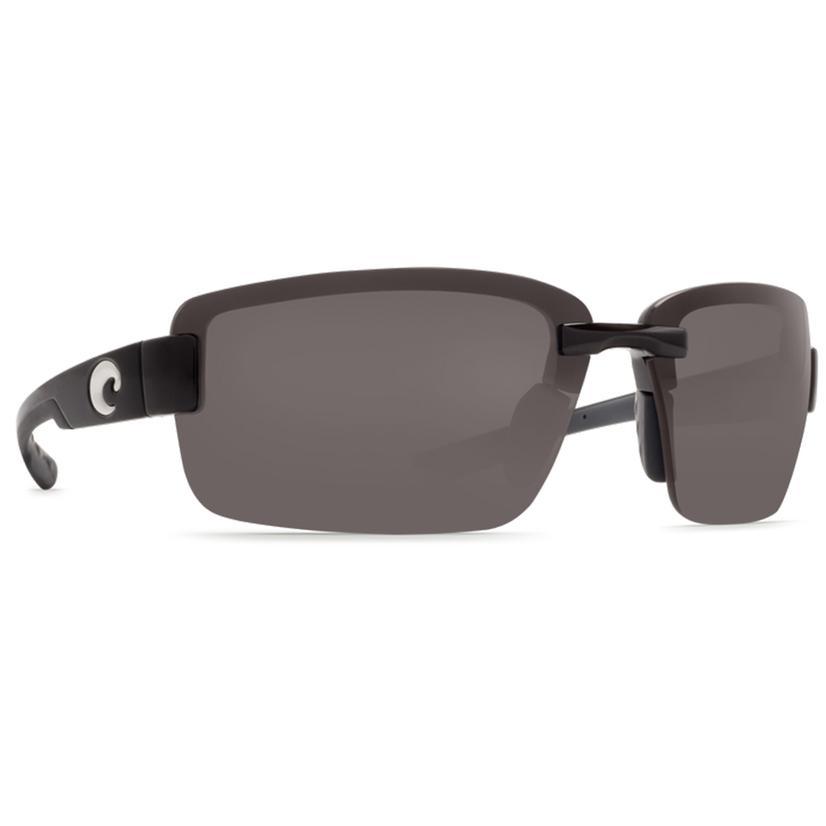 Costa Galveston Matte Black 1.5 Sunglasses