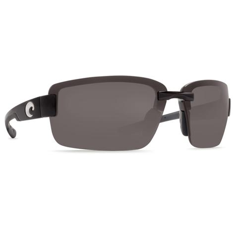 COSTA Galveston Matte Black 1.5 Sunglasses