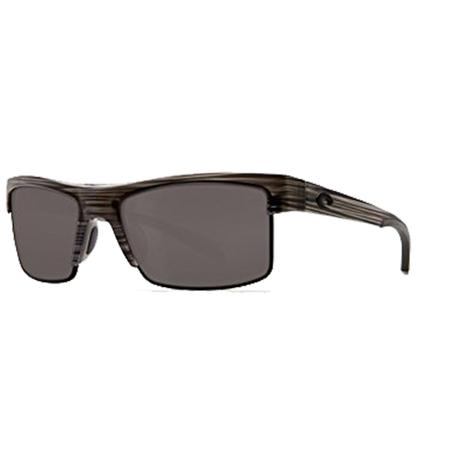 COSTA South Sea Silver Teak Black Gray 580 Sunglasses