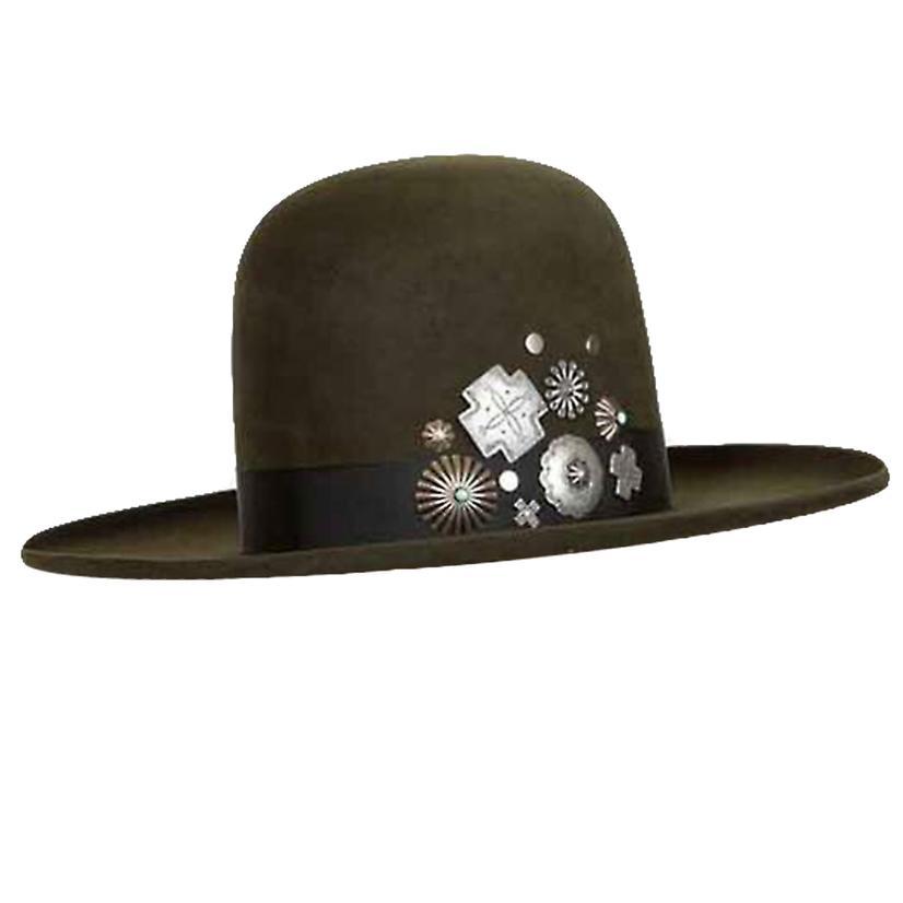 Double D Ranch Dark Moss Old Pawn Felt Hat