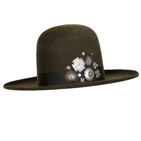 Double D Ranch Dark Moss Old Pawn Felt Hat