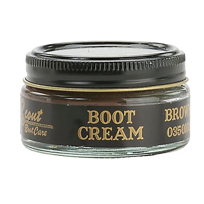 Scout Boot Cream 1.55 oz. MED._BROWN