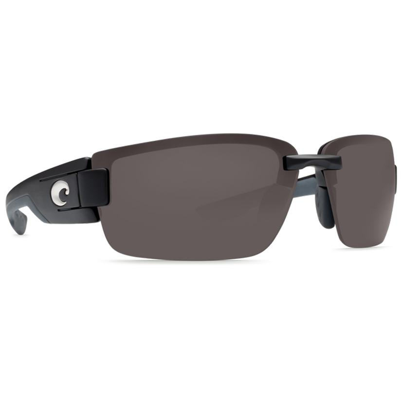 Costa Rockport Black Dark Grey Sunglasses